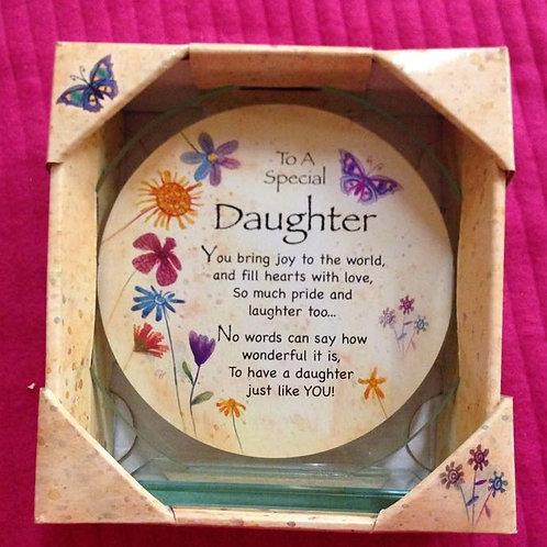 Special Daughter - Glass Plaque