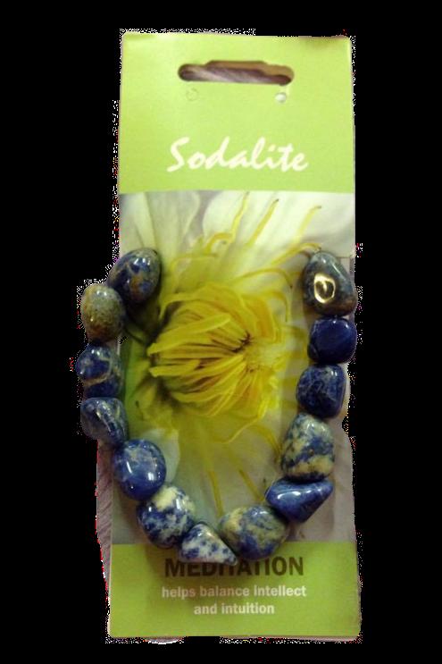 Sodalite Agogo Bracelet - Meditation