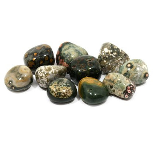 Ocean Jasper - Tumblestone Crystal