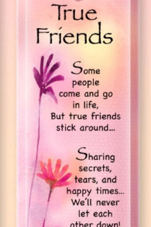 True Friends - Treasured Sentiment Plaque