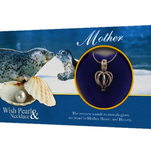 Mother Wish pearl necklace