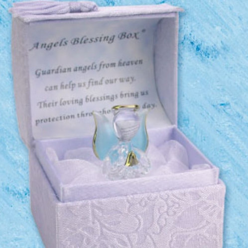 Angels Blessings (Blue) - Blessings Box