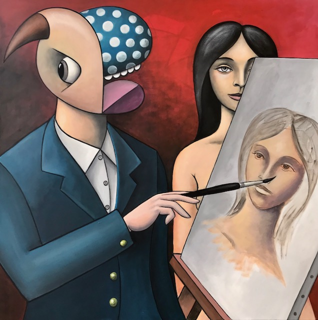 Painter and his Model