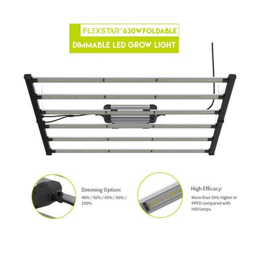 Flexstar 645W Foldable Dimmable LED Grow Light