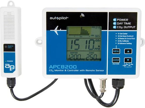 Autopilot Digital CO2 Controller w/15′ Remote Sensor