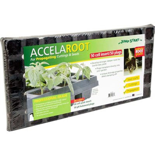 AccelaROOT 50 Cell Tray & Plugs