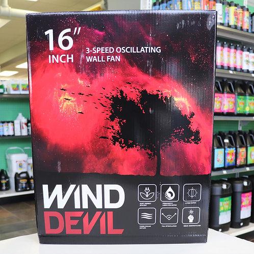 16″ Wind Devil Wall Fan 3 Speed