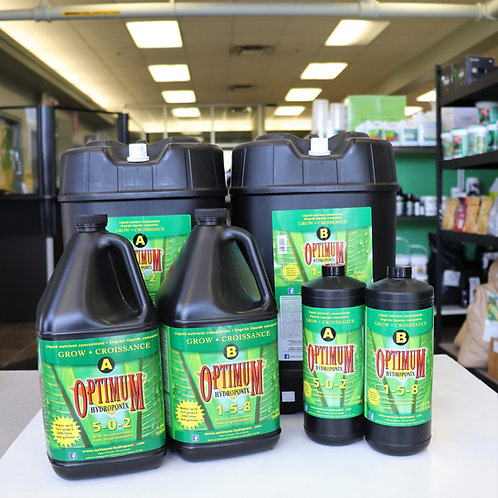 Optimum Hydroponix Grow A&B