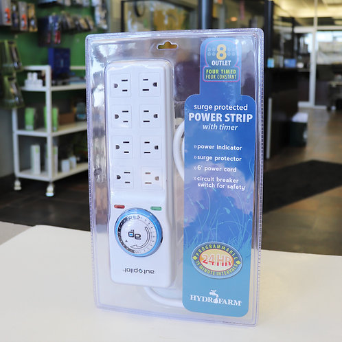 Autopilot Surge Protector / Power Strip with 8 Outlets & Timer
