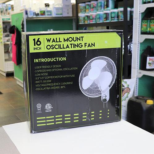16″ Wall Mount Oscillating Fan