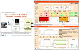 Xsens-based WMSD Assessment System (2019-2020)