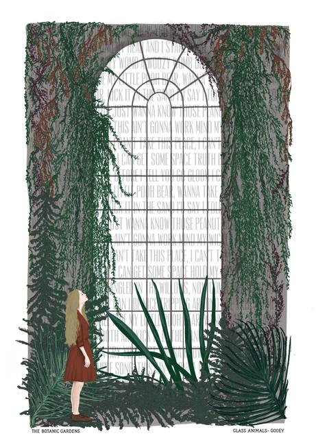 Edinburgh Botanics Print