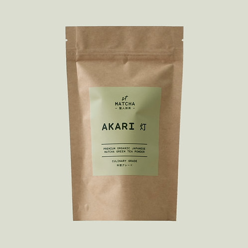 St Matcha Organic Japanese Matcha Powder | AKARI