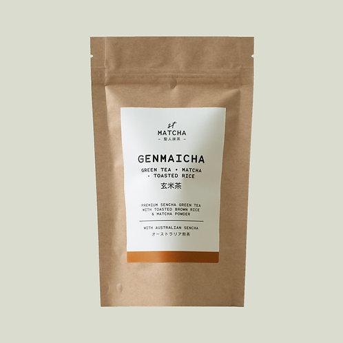 St Matcha Genmaicha Tea