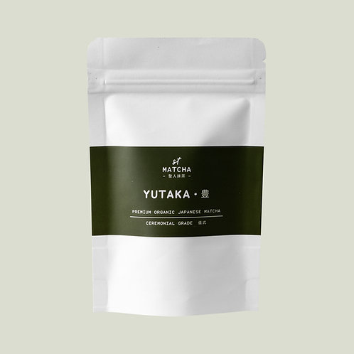 St Matcha Organic Japanese Matcha Powder | YUTAKA