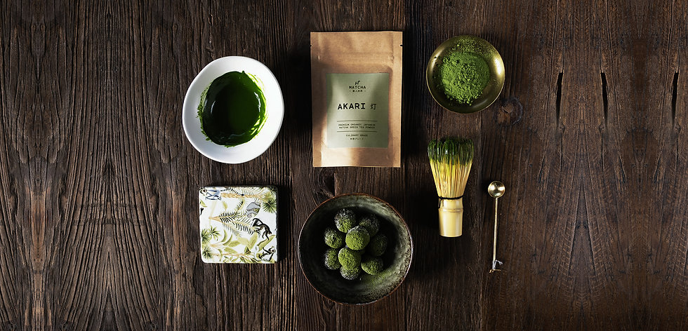 Organic Matcha Powder and Organic Hojicha Powder by St Matcha