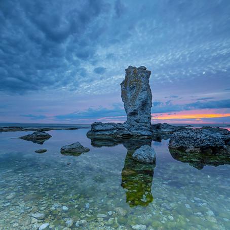 Fårö Raukar: bijzondere rotsformaties