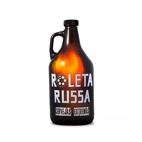 Growler Roleta Russa 1.8L   Vidro