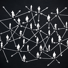 image showing people network