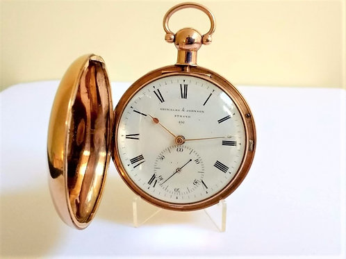 George III 18ct Gold Hunter Pocket Watch