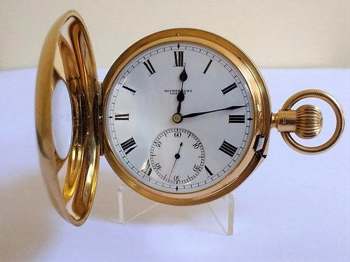18ct Gold Carousel Pocket Watch