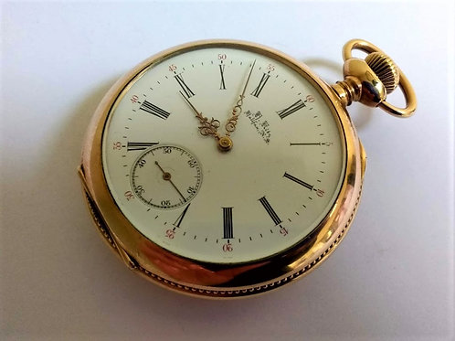 Large Open Face Pocket Watch (Canadian)
