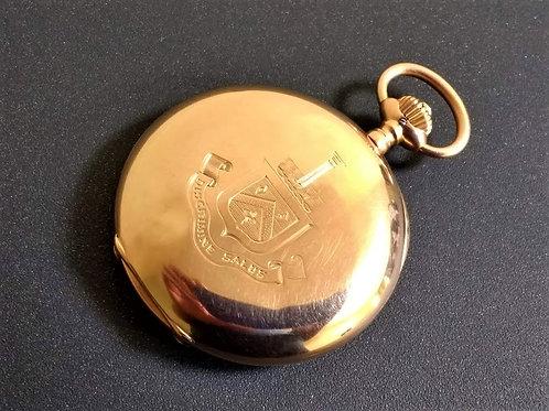 IWC 14ct Gold Full Hunter Pocket Watch