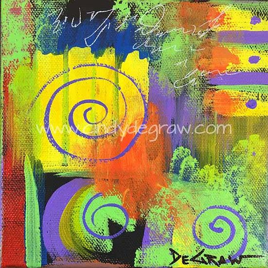 Yellow Abstract No.1