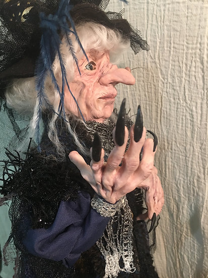 The Mystic Hag OOAK Witch 19""