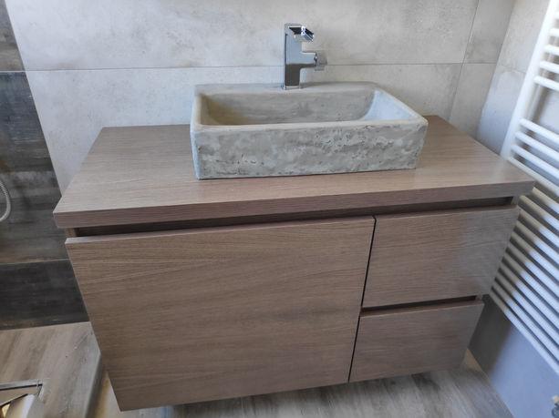 Τοποθέτηση επίπλου μπάνιου