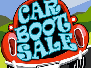 CAR BOOT SALE 30/9/17