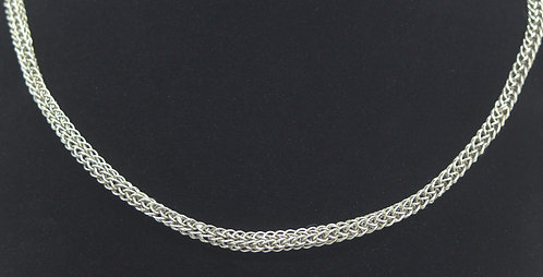 Handmade 4 Loop Sterling Silver Wire Chains