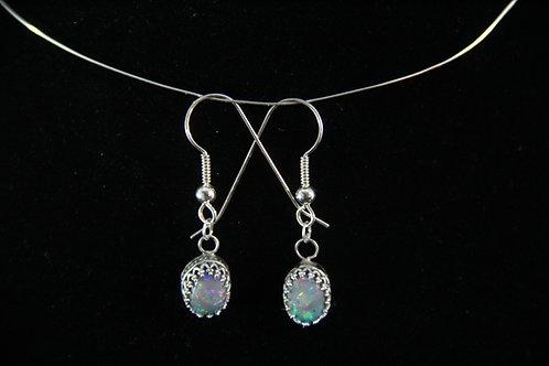 Mintabie Opal Earrings