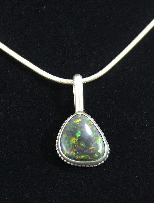 Opal Matrix Necklace