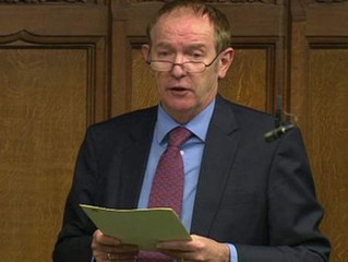 Sir Kevin Barron MP Declared His Position on Fracking