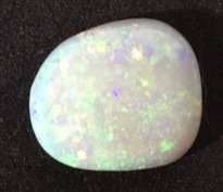 Brilliant Hand Cut Mintabie Opal  Custom Mounted at Your Request