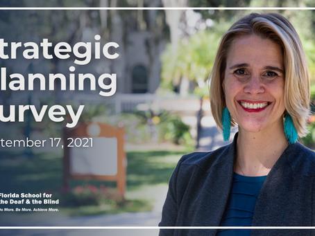Strategic Planning Survey – September 17, 2021