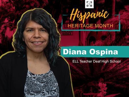 Diana Ospina: Hispanic Heritage Month