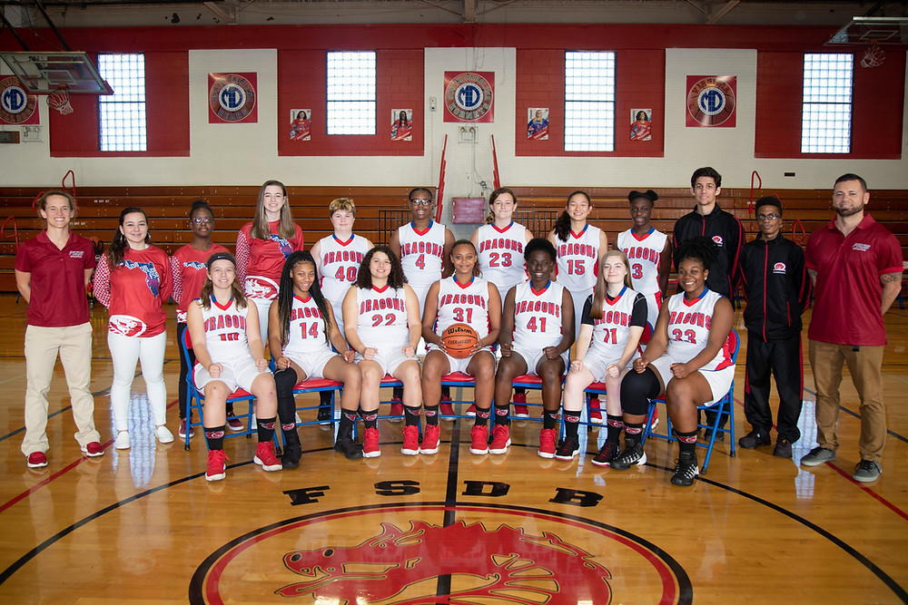 FSDB Girls Basketball Team