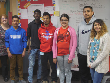 ESOL Students Observe Hispanic Heritage Month