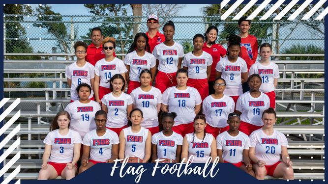 Flag Football Team Photo