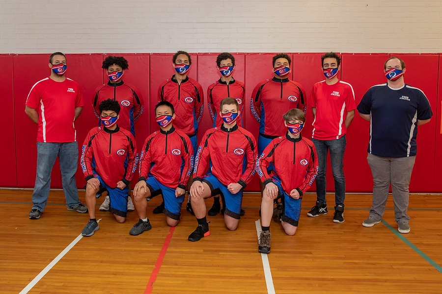 FSDB Wrestling Team 2020-21