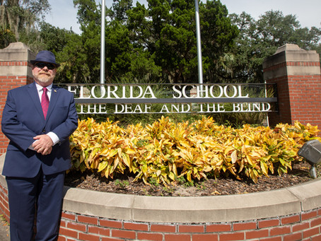 Blind alumnus Owen McCaul leads by example as chair of the board of FSDB