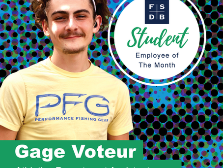 Gage Voteur: Student Employee of the Month (Oct. 2021)