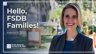 Hello, FSDB Families! – March 11, 2021
