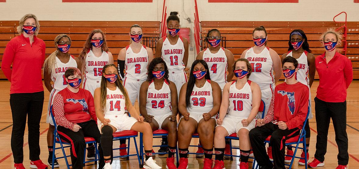 FSDB Girls Varsity Basketball Team 2020-