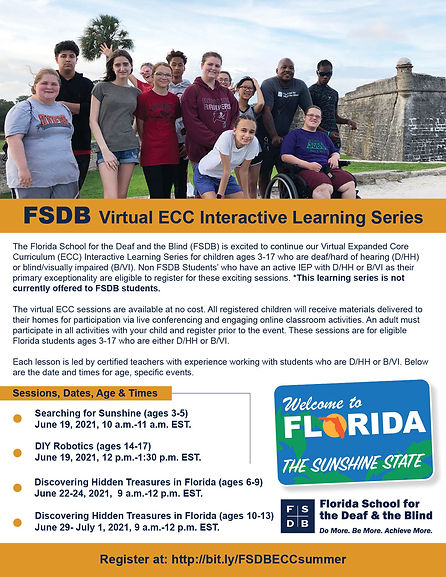 FSDB Virtual ECC Interactive Learning Series Flyer