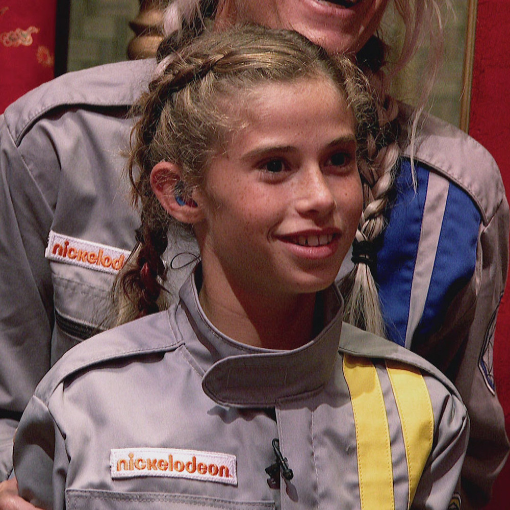 Priscilla LeFors ready for action in the Crystal Maze.