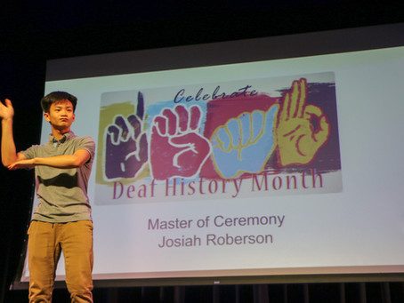 Students Celebrate Deaf History Month