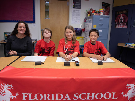 Students Compete in Battle of the Books Preliminaries